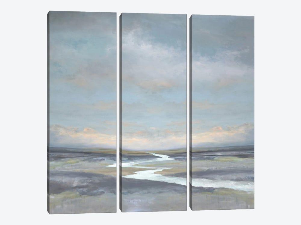 Riverbend I by Christy McKee 3-piece Canvas Art
