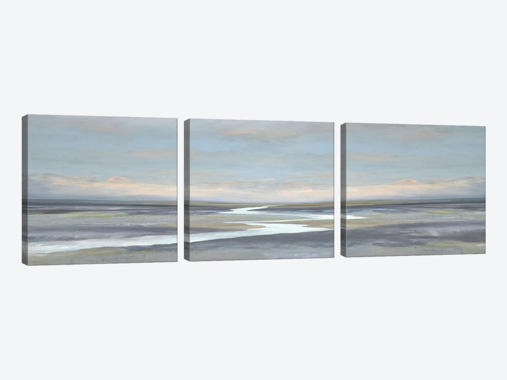 Riverbend II by Christy McKee 3-piece Art Print