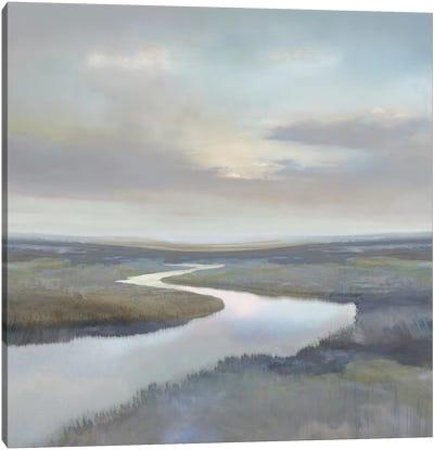 Riverbend III Canvas Art Print