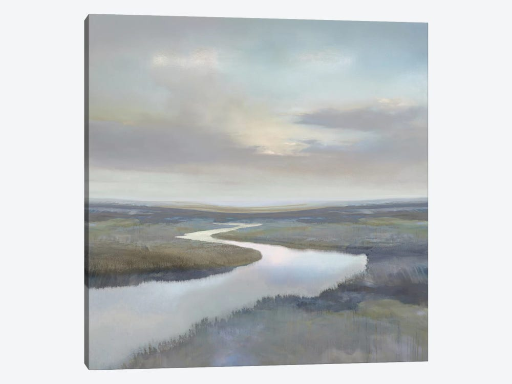 Riverbend III by Christy McKee 1-piece Canvas Art