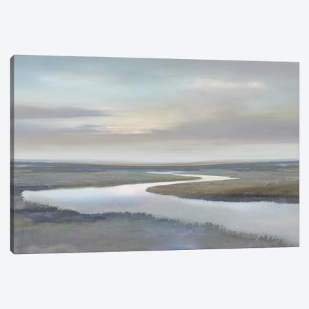 Riverbend IV Canvas Print #MCK14} by Christy McKee Art Print