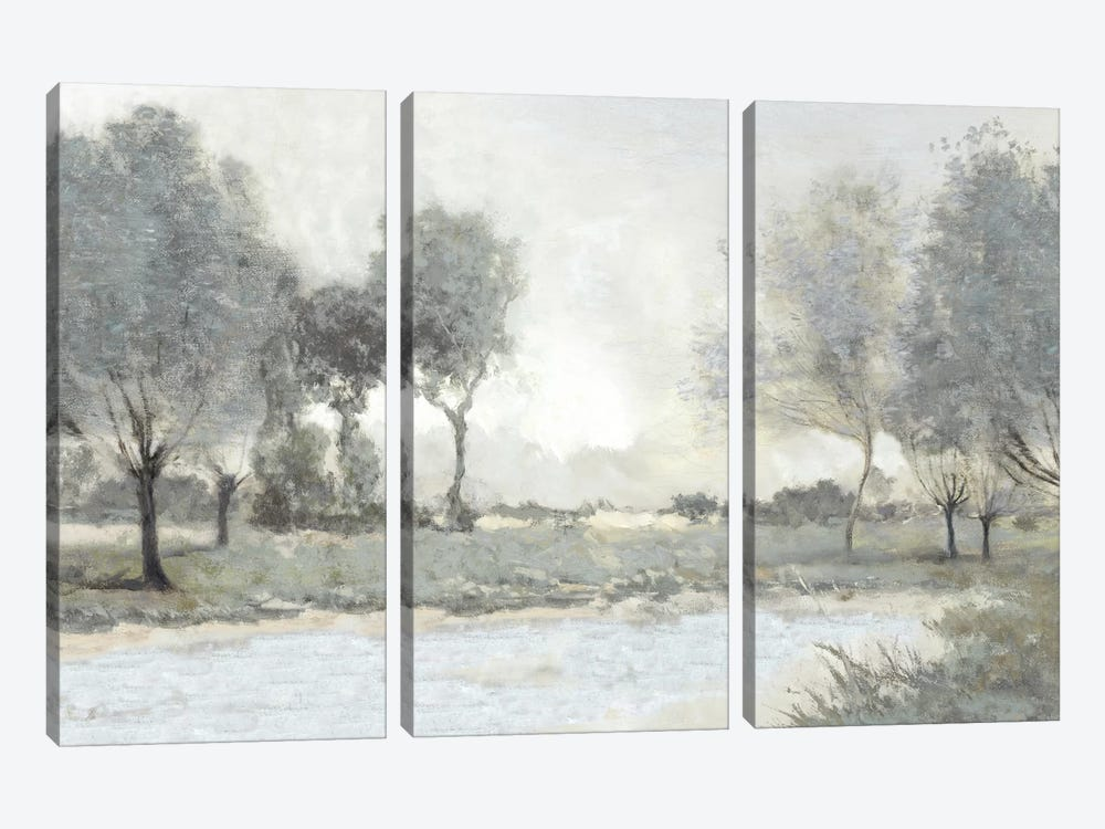 By The Pond I by Christy McKee 3-piece Canvas Artwork