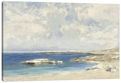 Pond at Morning Canvas Art Print