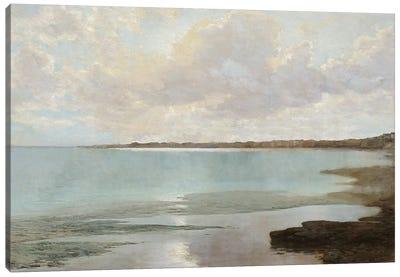 At the Shore Canvas Art Print