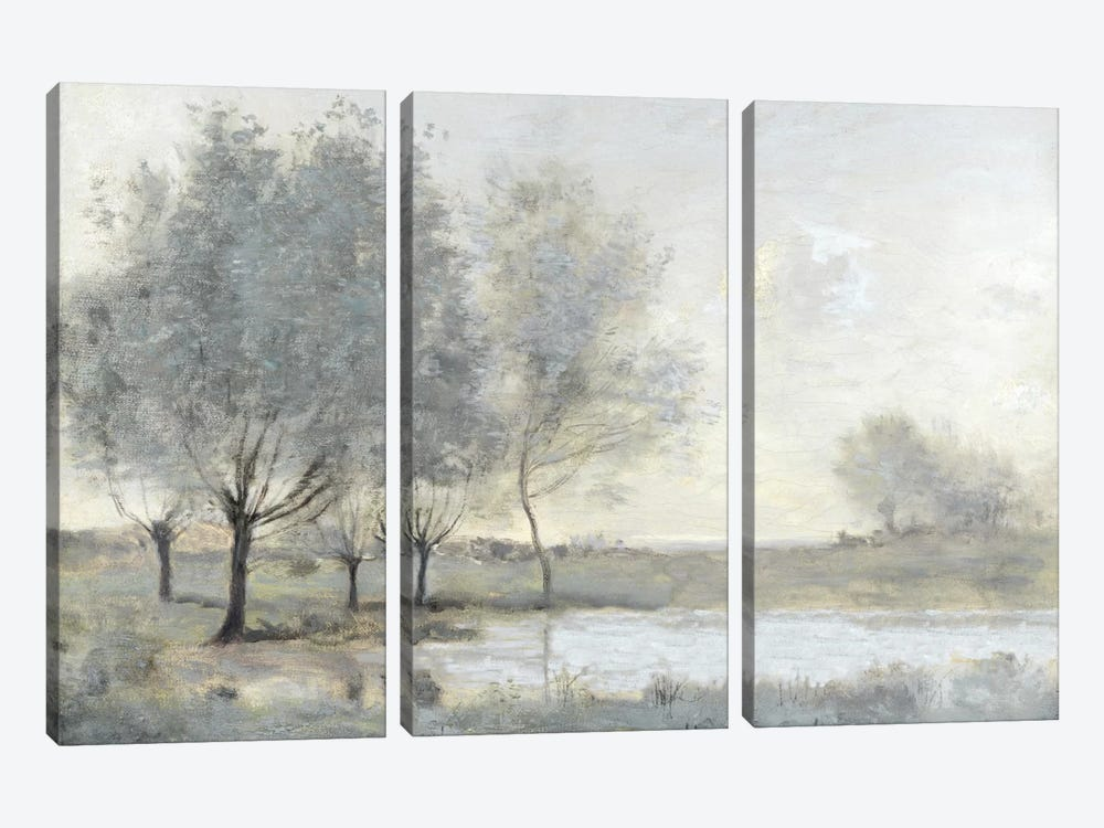 By The Pond II by Christy McKee 3-piece Canvas Print