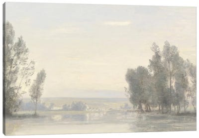 Morning Landscape Canvas Art Print