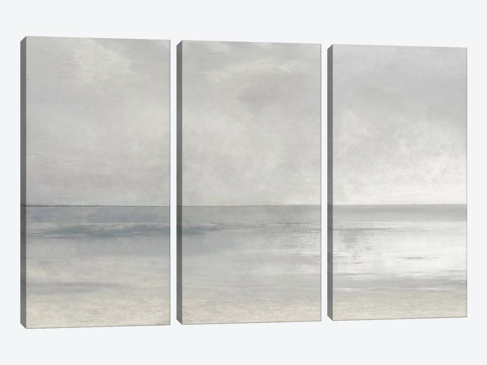 Pastel Seascape II by Christy McKee 3-piece Canvas Wall Art