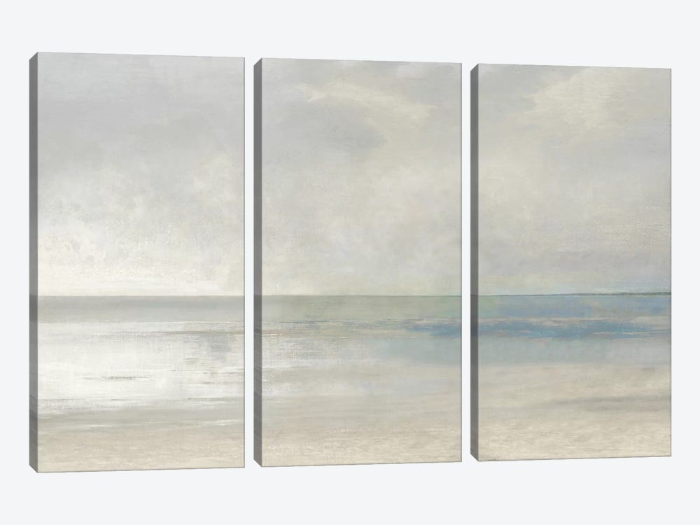Pastel Seascape III by Christy McKee 3-piece Canvas Art Print