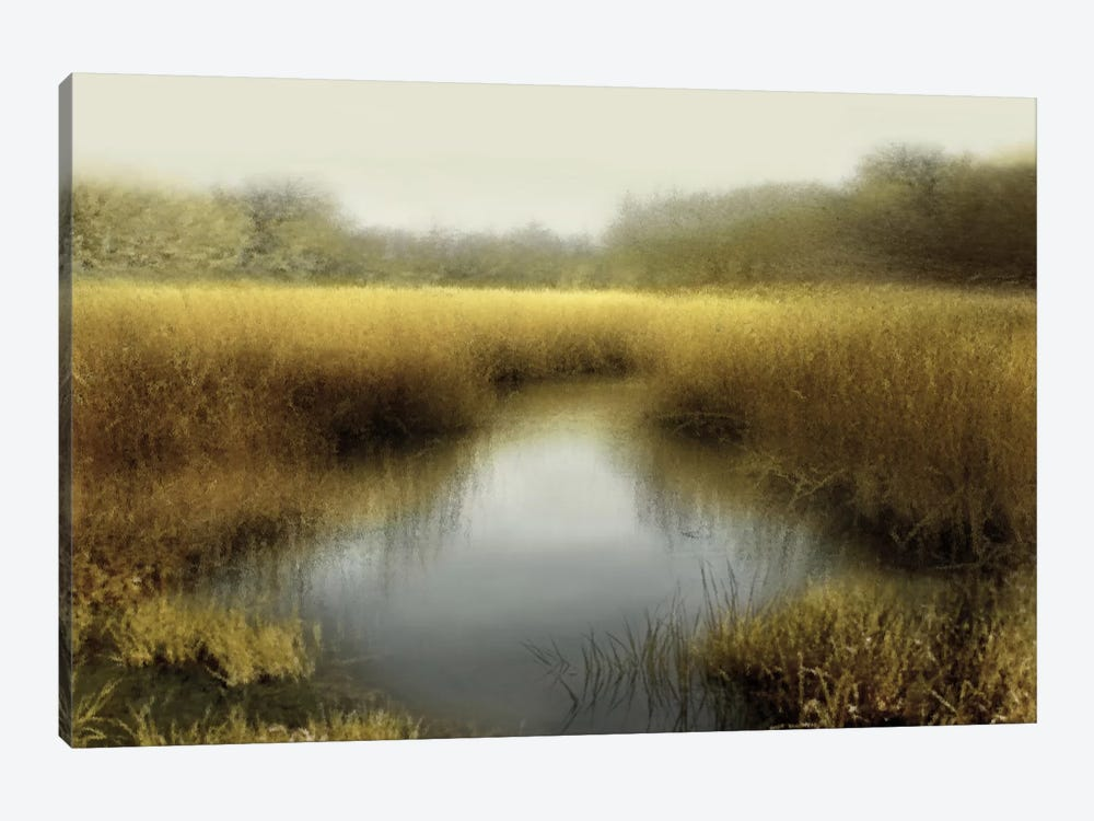 Tranquil Pond by Madeline Clark 1-piece Canvas Artwork