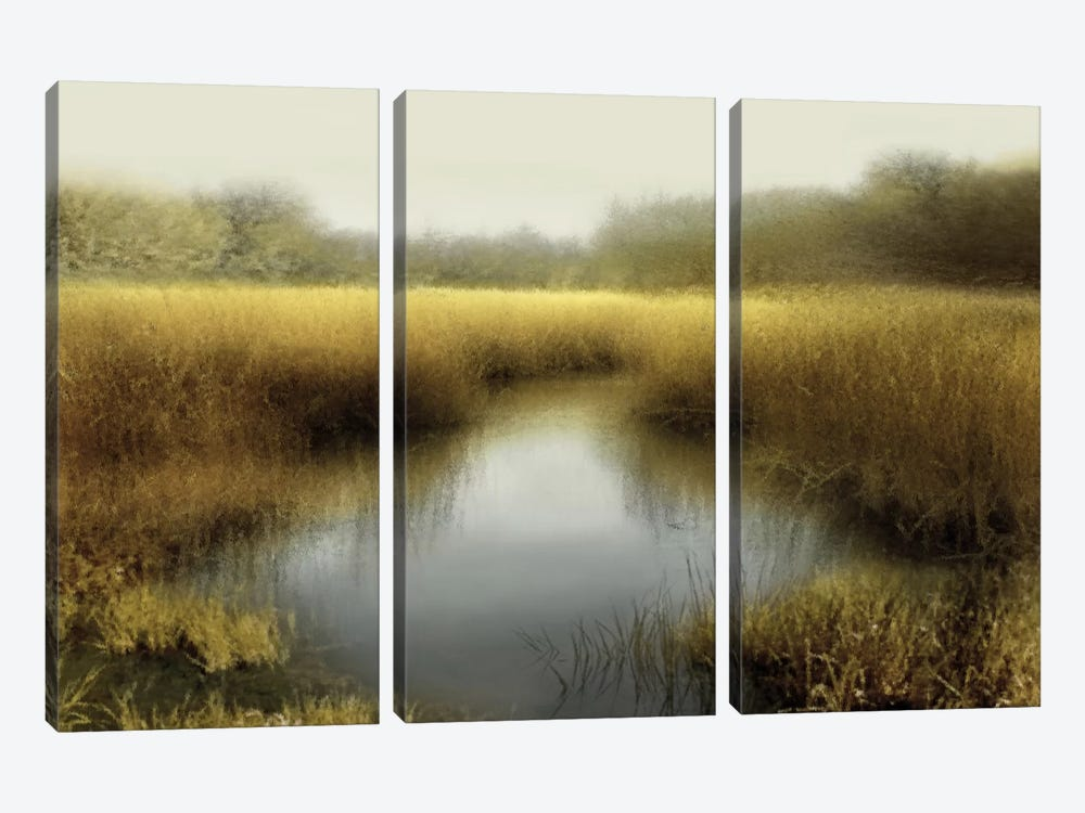 Tranquil Pond by Madeline Clark 3-piece Canvas Art