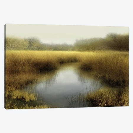 Tranquil Pond Canvas Print #MCL10} by Madeline Clark Art Print