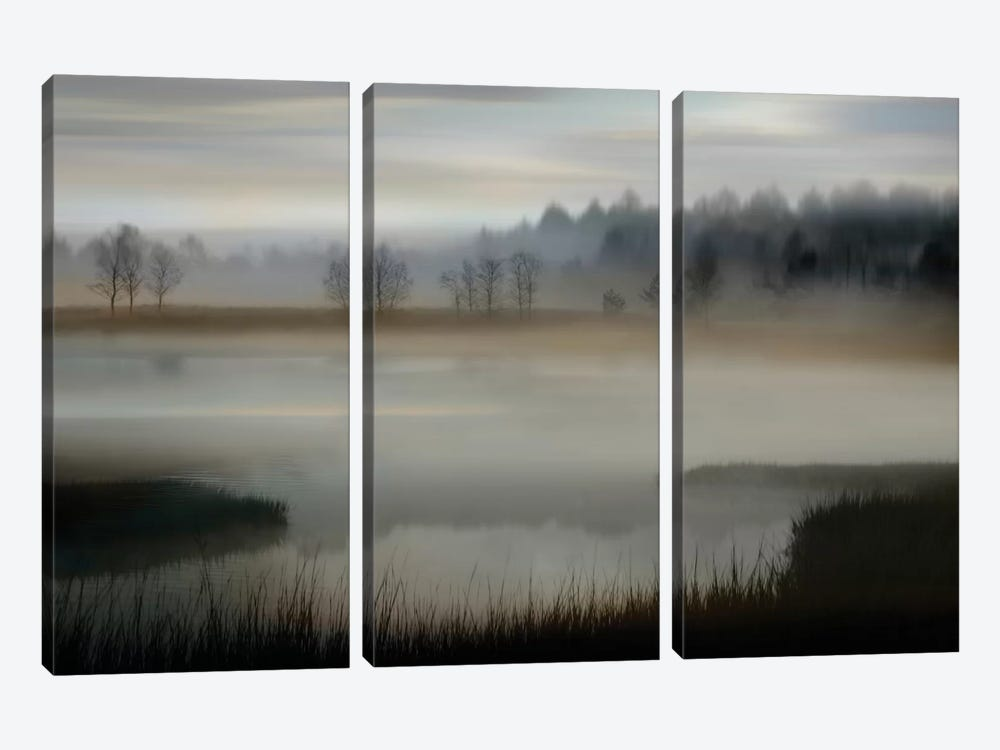 Early Morning by Madeline Clark 3-piece Canvas Wall Art