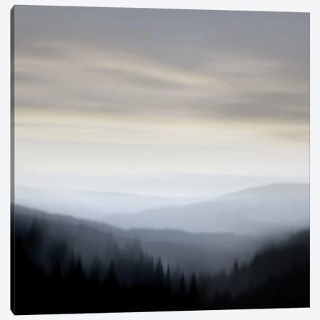 Mountain Vista I Canvas Print #MCL14} by Madeline Clark Canvas Wall Art