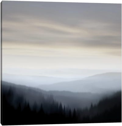 Mountain Vista I Canvas Art Print