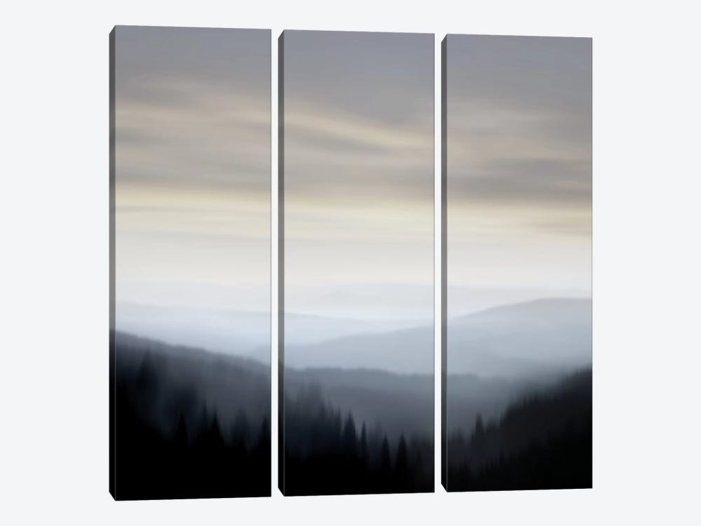 Mountain Vista I by Madeline Clark 3-piece Canvas Wall Art