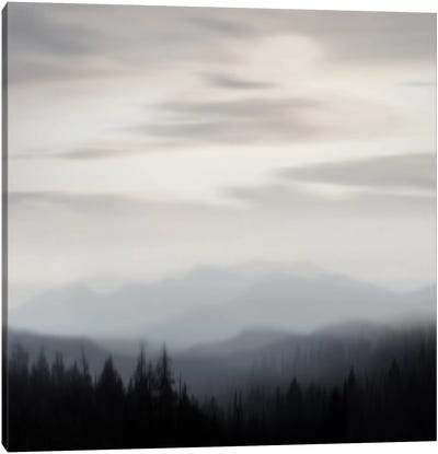 Mountain Vista II Canvas Art Print