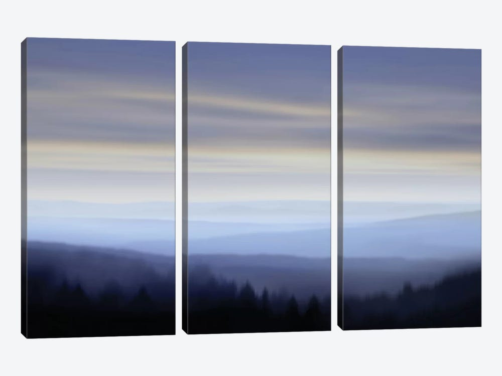 Panorama I by Madeline Clark 3-piece Canvas Wall Art