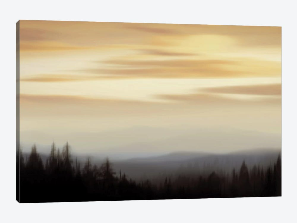 Panorama II by Madeline Clark 1-piece Canvas Art Print
