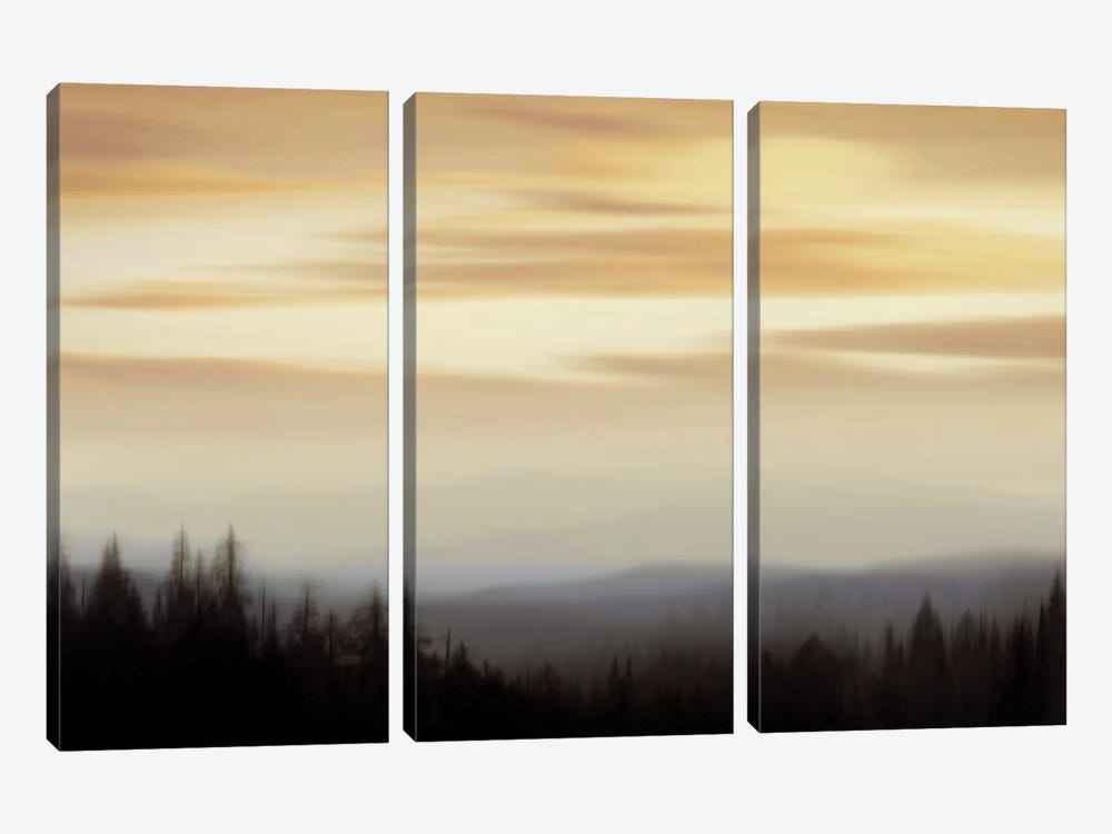 Panorama II by Madeline Clark 3-piece Canvas Art Print