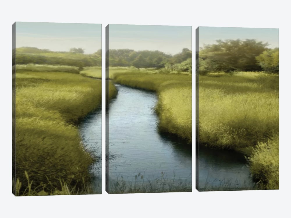 Quiet Moment by Madeline Clark 3-piece Canvas Wall Art