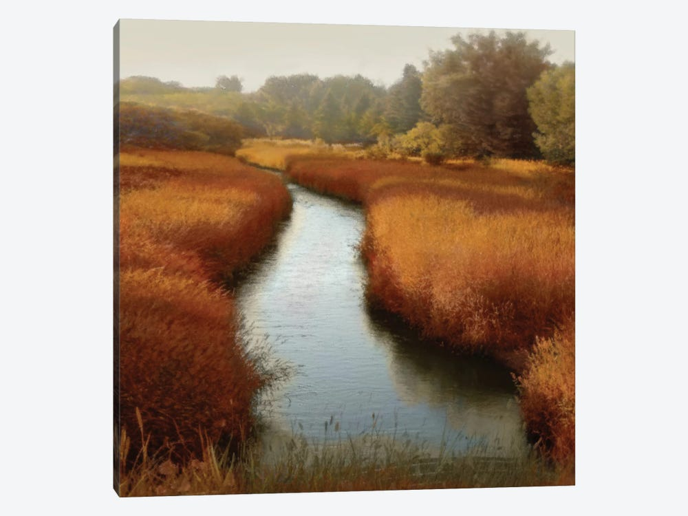 Sunlit Pond I by Madeline Clark 1-piece Canvas Art Print