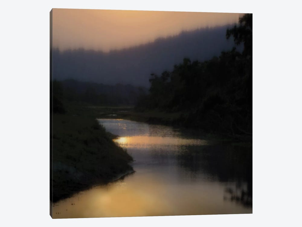 Sunlit River by Madeline Clark 1-piece Canvas Print