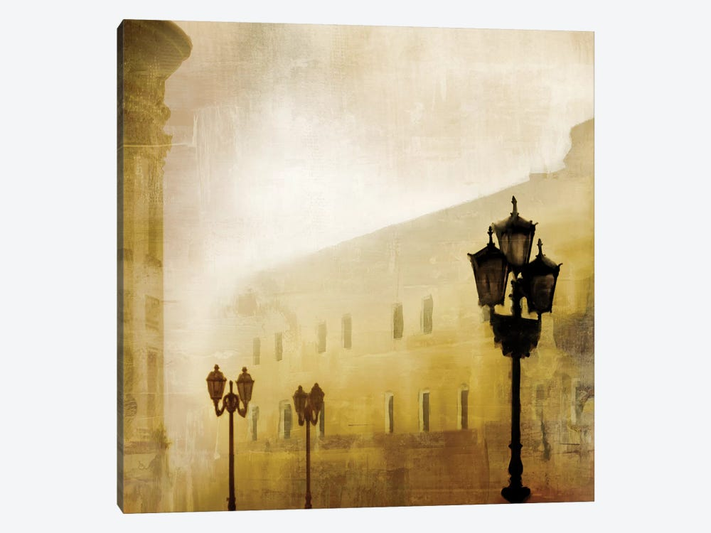 Fog Town I by James McMasters 1-piece Canvas Artwork