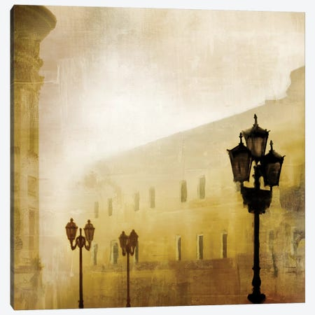 Fog Town I Canvas Print #MCM20} by James McMasters Canvas Print