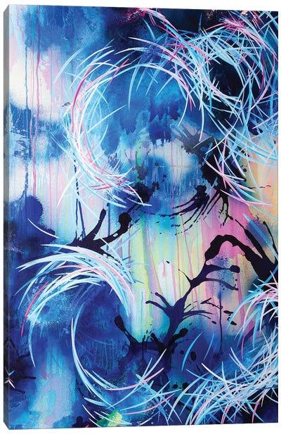 Falling Towards The Sky II Canvas Art Print