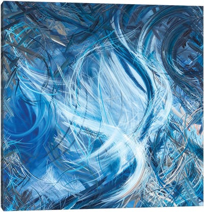 Consumption of the White Whale (Ahadevale) Canvas Art Print