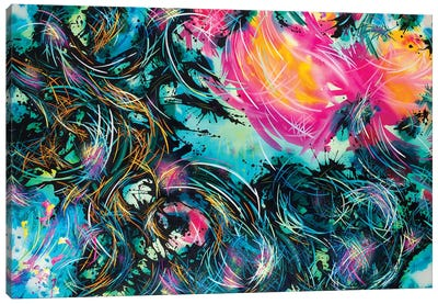 Foreverandever Canvas Art Print