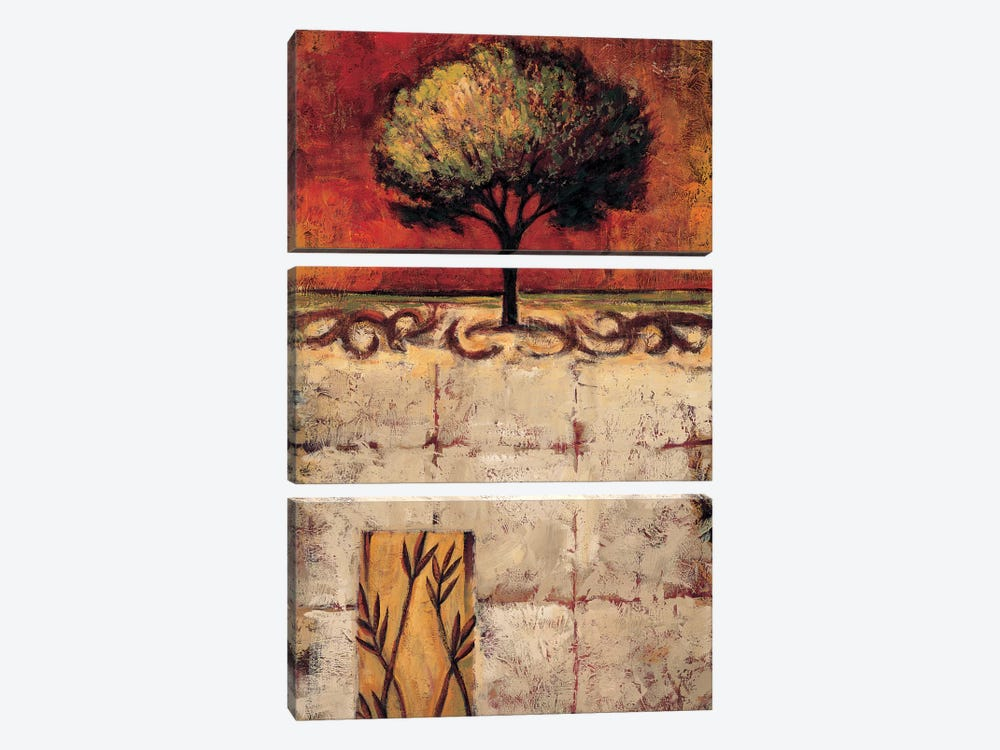 Stately II by Marshall McCoy 3-piece Canvas Print