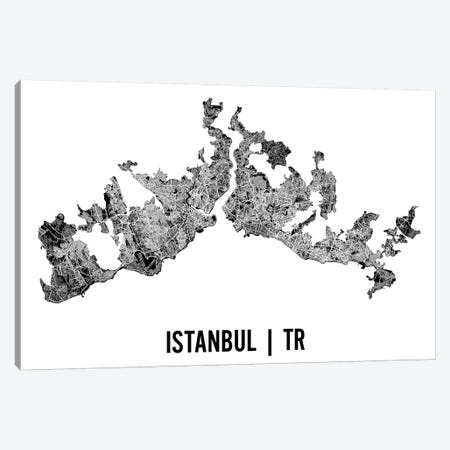 Istanbul Map Canvas Print #MCP29} by Mr. City Printing Canvas Art