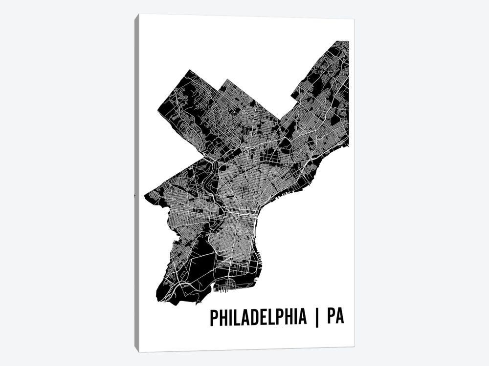 Philadelphia map canvas artwork by mr city printing icanvas philadelphia map by mr city printing 1 piece art print freerunsca Gallery