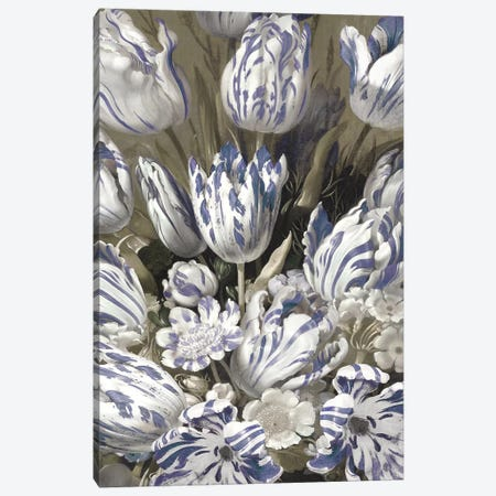 Tulip Bouquet Canvas Print #MCQ12} by Angela McQueen Canvas Artwork