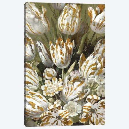 Golden Tulip Bouquet Canvas Print #MCQ13} by Angela McQueen Canvas Artwork