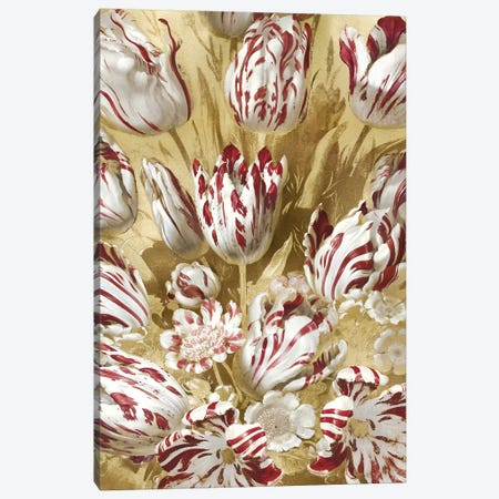 Tulip Bouquet in Red Canvas Print #MCQ15} by Angela McQueen Canvas Print