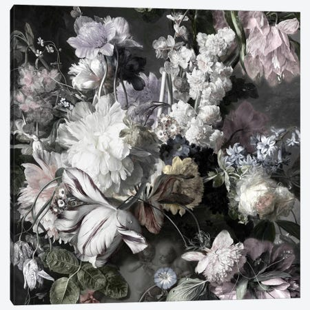 Glorious Bouquet IV Canvas Print #MCQ4} by Angela McQueen Canvas Wall Art