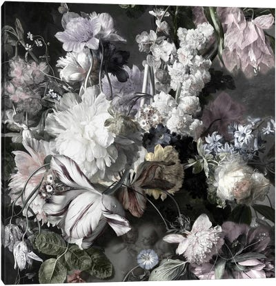 Glorious Bouquet IV Canvas Art Print
