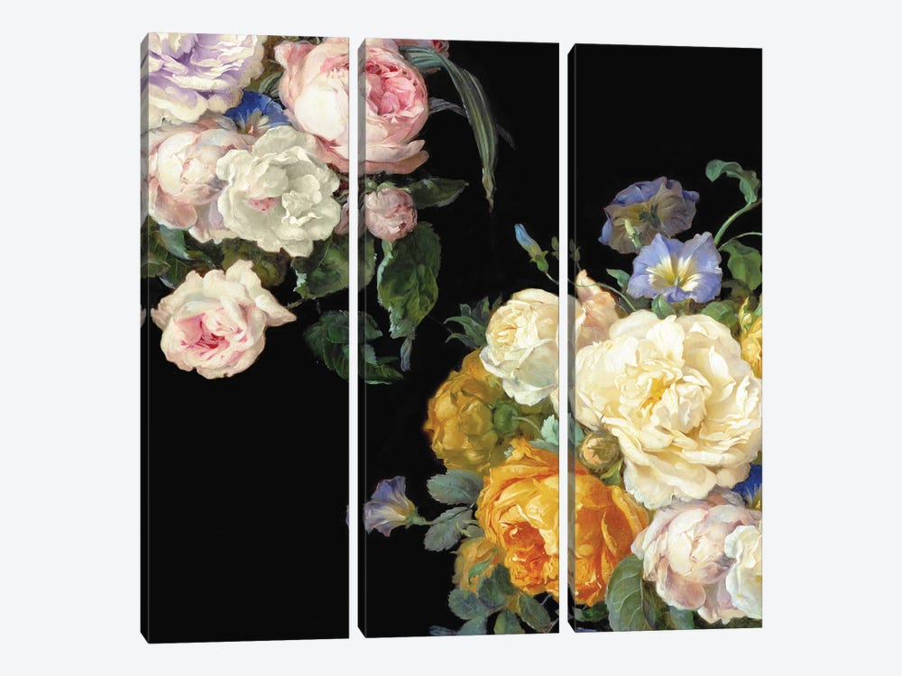 Glorious I by Angela McQueen 3-piece Canvas Art Print