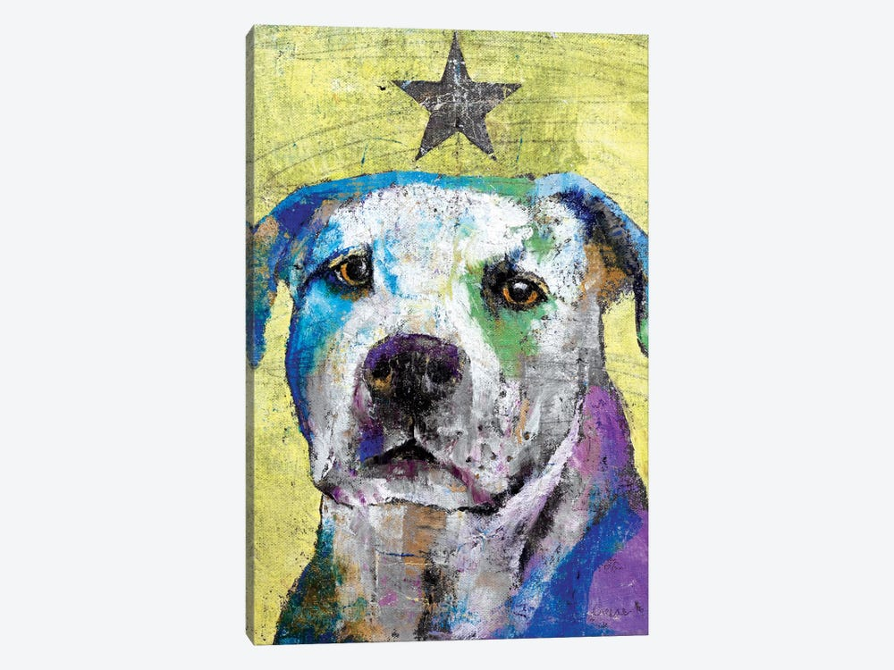 Pit Bull Terrier 1-piece Canvas Print