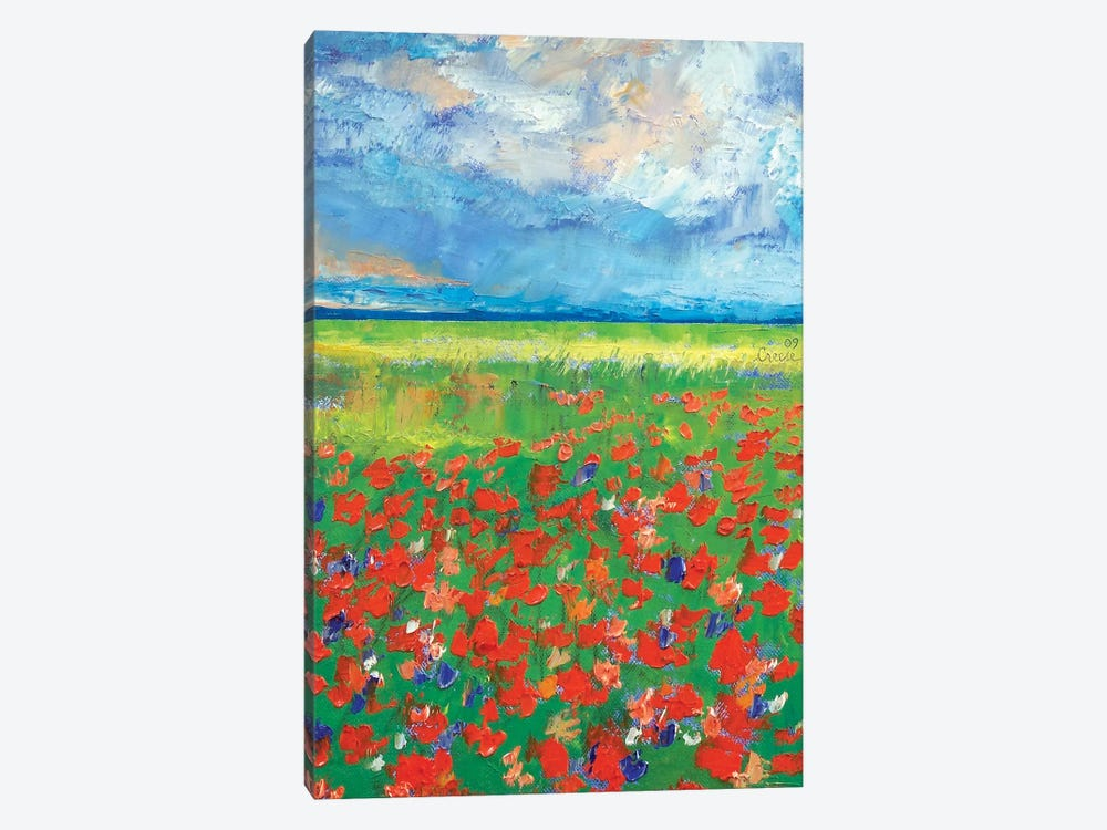 Poppy Field by Michael Creese 1-piece Canvas Print