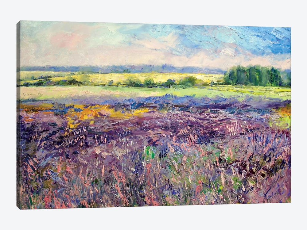 Provence Lavender by Michael Creese 1-piece Canvas Wall Art