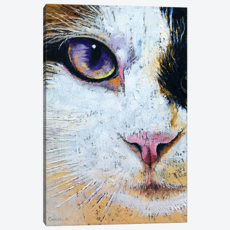 Ragdoll Cat Canvas Print #MCR111} by Michael Creese Art Print