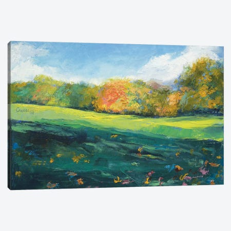 Autumn Leaves Canvas Print #MCR11} by Michael Creese Art Print
