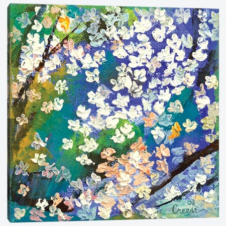 Sakura Oil Painting Canvas Print #MCR121} by Michael Creese Canvas Art