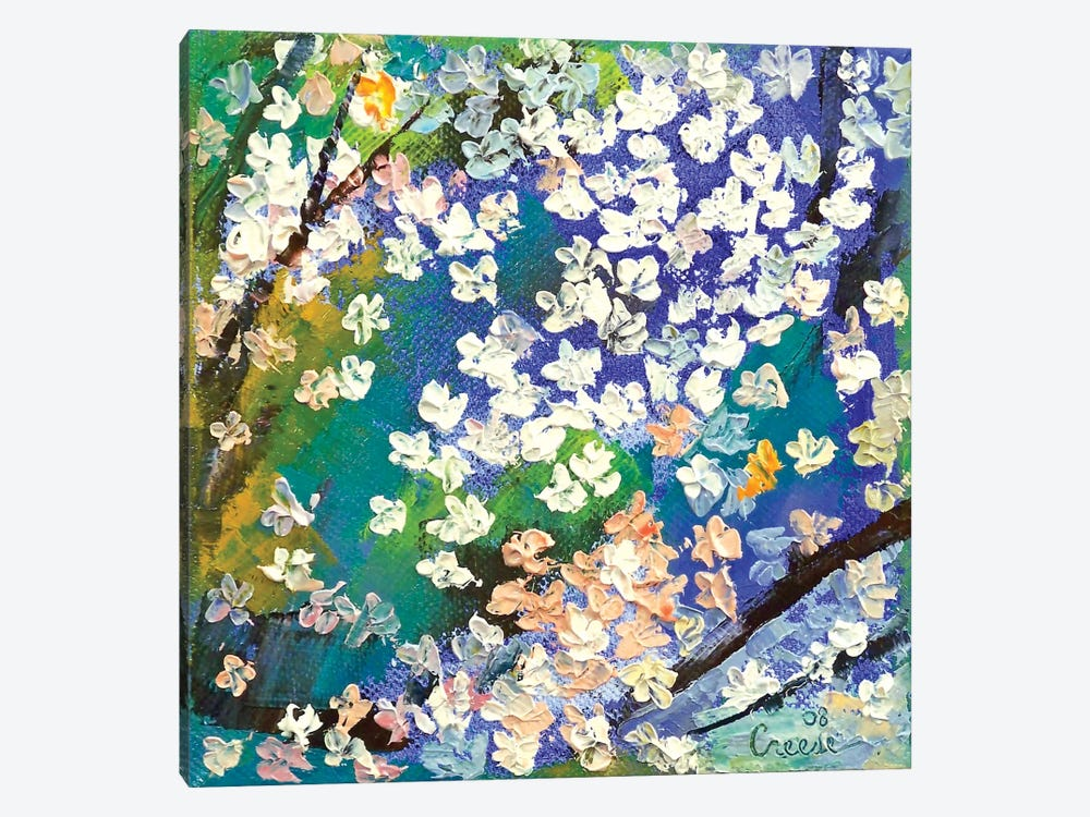 Sakura Oil Painting by Michael Creese 1-piece Art Print