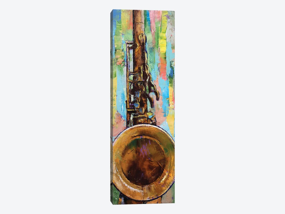 Saxophone Canvas Wall Art by Michael Creese | iCanvas