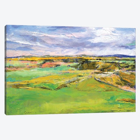 Scottish Lowlands Canvas Print #MCR125} by Michael Creese Art Print