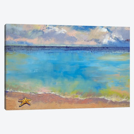 Starfish Canvas Print #MCR132} by Michael Creese Art Print